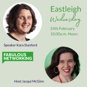 Promoting Fabulous Networking Eastleigh February 24th 2021