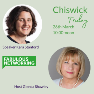 Promotion for Fabulous Networking Chiswick March 26th 2021