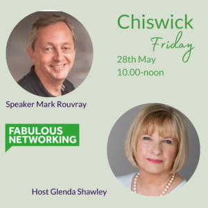 Promo for Fabulous Networking Chiswick 28.5.21
