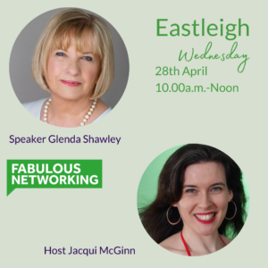 Publicity for Fabulous Networking Eastleigh April 28th 2021