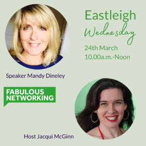 Promotion FAbulous Networking Eastleigh 24 March 2021