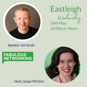 Publicity image for Fabulous Networking Eastleigh May 2021
