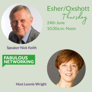 Promotion for Fabulous Networking Esher June 24th 2021