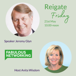 Promotion Fabulous Networking Reigate May 21st 2021