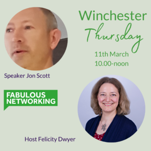 Promotion for Fabulous Networking Winchester March 11th 2021
