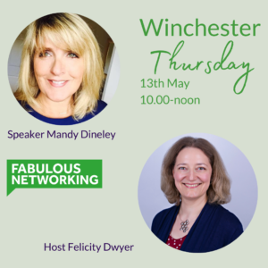 Graphic for Fabulous Networking Winchester Thursday 13th May