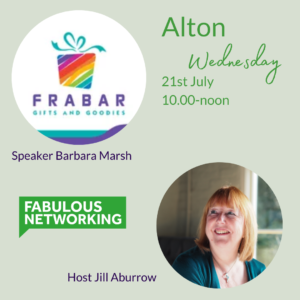 Promotion for Fabulous Networking Alton July 21st 2021