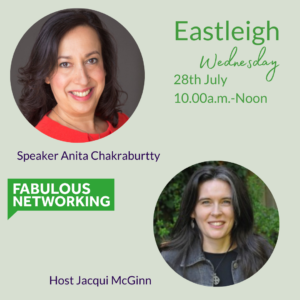 Promo for Fabulous Networking Eastleigh July 28th 2021