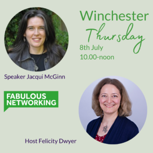 Promotion for Fabulous Networking Winchester July 8th 2021