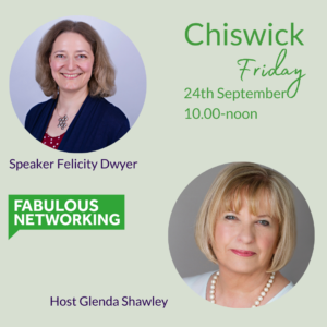 Promoting Fabulous Networking Chiswick September 24th 2021