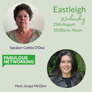 Publicity for Fabulous Networking Eastleigh August 25th 2021 10.00a.m.