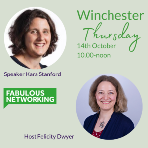 Promoting Fabulous Networking Winchester October 14th 2021